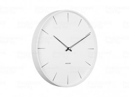 Designové nástěnné hodiny 5834WH Karlsson 40cm