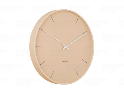Designové nástěnné hodiny 5834BR Karlsson 40cm