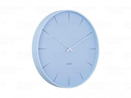 Designové nástěnné hodiny 5834BL Karlsson 40cm