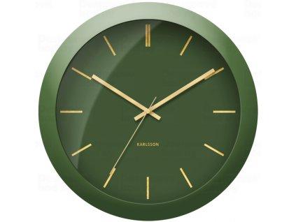 Designové nástěnné hodiny 5840GR Karlsson 40cm