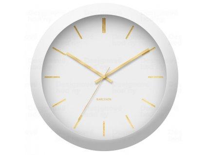 Designové nástěnné hodiny 5840WH Karlsson 40cm
