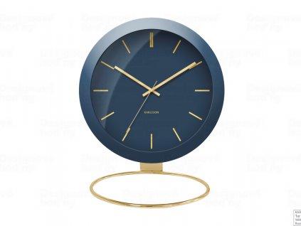 Designové stolní hodiny 5832BL Karlsson 25cm