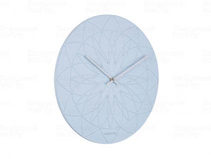 Designové nástěnné hodiny 5836BL Karlsson 35cm
