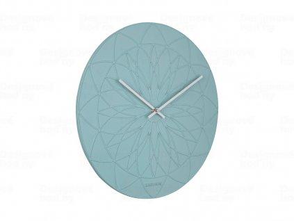 Designové nástěnné hodiny 5836GR Karlsson 35cm