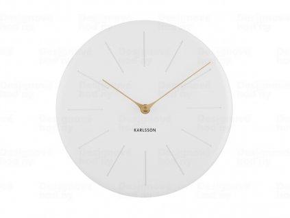 Designové nástěnné hodiny 5772WH Karlsson 25cm