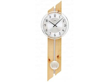 Kyvadlové nástěnné hodiny 7469 AMS 65cm