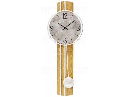 Kyvadlové nástěnné hodiny 7466 AMS 60cm
