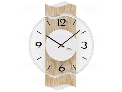 Designové nástěnné hodiny 9621 AMS 39cm