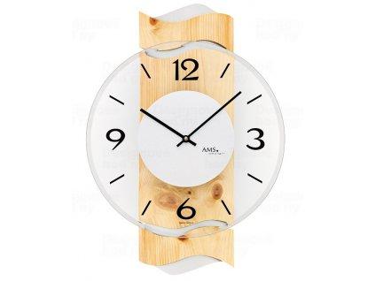 Designové nástěnné hodiny 9623 AMS 39cm