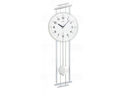 Designové nástěnné hodiny 5316 řízené rádiovým signálem AMS 65cm