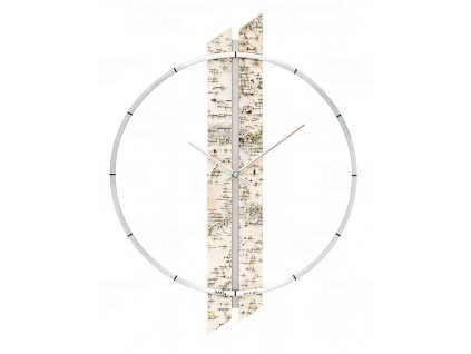 Designové nástěnné hodiny 9604 AMS 55cm