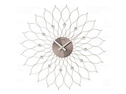 Designové nástěnné hodiny 9608 AMS 50cm