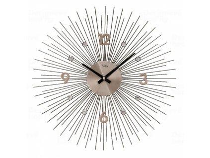 Designové nástěnné hodiny 9610 AMS 50cm