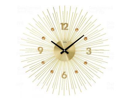 Designové nástěnné hodiny 9611 AMS 50cm