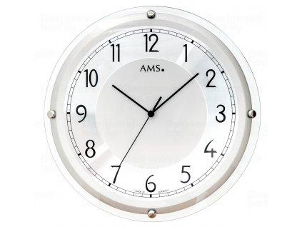 Nástěnné hodiny 5542 AMS řízené rádiovým signálem 40cm