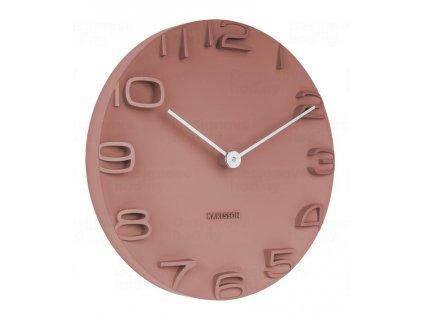 Designové nástěnné hodiny 5311OR Karlsson 42cm