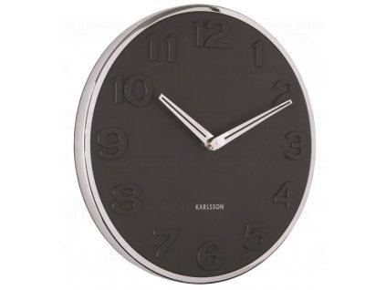 Designové nástěnné hodiny 5759BK Karlsson 30cm