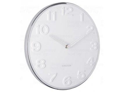 Designové nástěnné hodiny 5759WH Karlsson 30cm