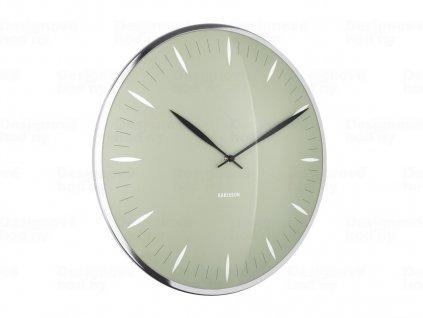 Designové nástěnné hodiny 5761GR Karlsson 40cm
