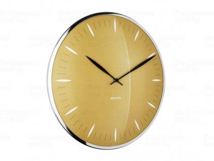 Designové nástěnné hodiny 5761YE Karlsson 40cm