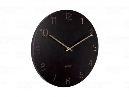 Designové nástěnné hodiny 5762BK Karlsson 40cm