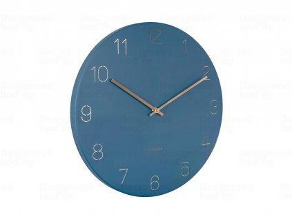 Designové nástěnné hodiny 5762BL Karlsson 40cm