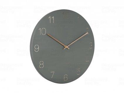 Designové nástěnné hodiny 5762GR Karlsson 40cm
