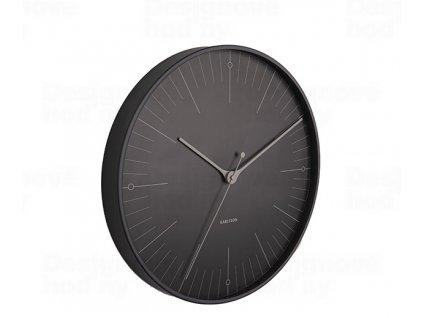 Designové nástěnné hodiny 5769BK Karlsson 40cm