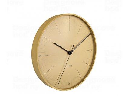 Designové nástěnné hodiny 5769YE Karlsson 40cm