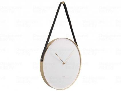 Designové nástěnné hodiny 5767WH Karlsson 34cm