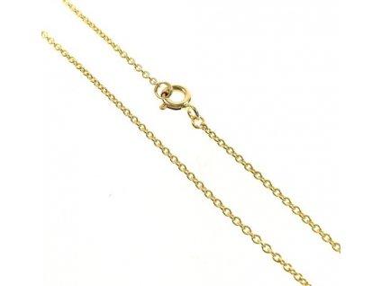 Řetízek zlatý 43/111375 Anker