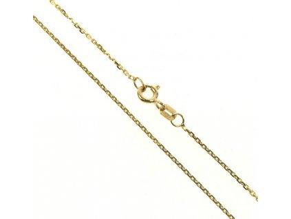 Řetízek zlatý 43/109070 Anker