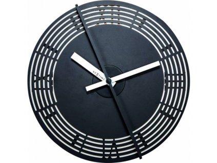 Pohyblivé designové nástěnné hodiny Nextime 3126 Motion Roman Number 30cm