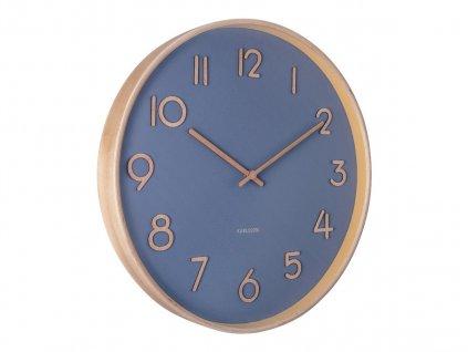 Designové nástěnné hodiny 5757BL Karlsson 40cm