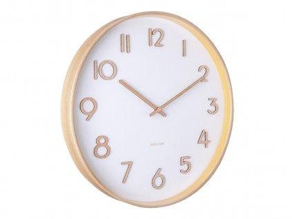 Designové nástěnné hodiny 5757WH Karlsson 40cm