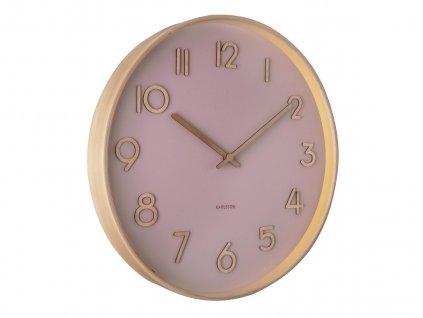 Designové nástěnné hodiny 5757PI Karlsson 40cm