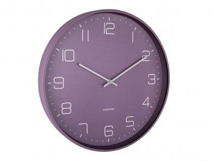 Designové nástěnné hodiny 5751PU Karlsson 40cm