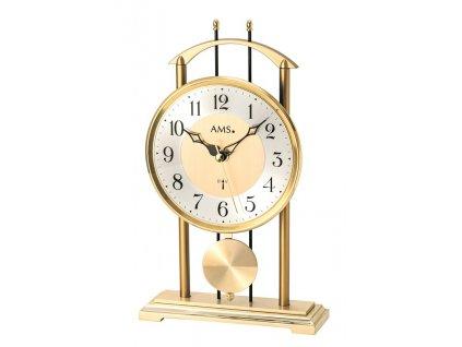 Stolní kyvadlové hodiny 5193 AMS řízené rádiových signálem 29cm