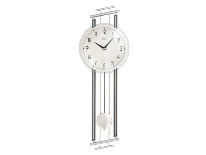 Designové nástěnné hodiny 5314 AMS řízené rádiovým signálem 65cm