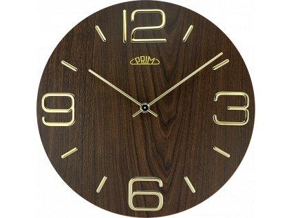 Nástěnné hodiny PRIM Timber Noble
