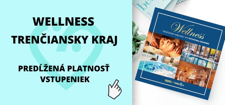 Aktuálne informácie k platnosti vstupeniek Wellness Trenčiansky kraj