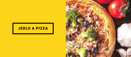 Jedlo a pizza zľava
