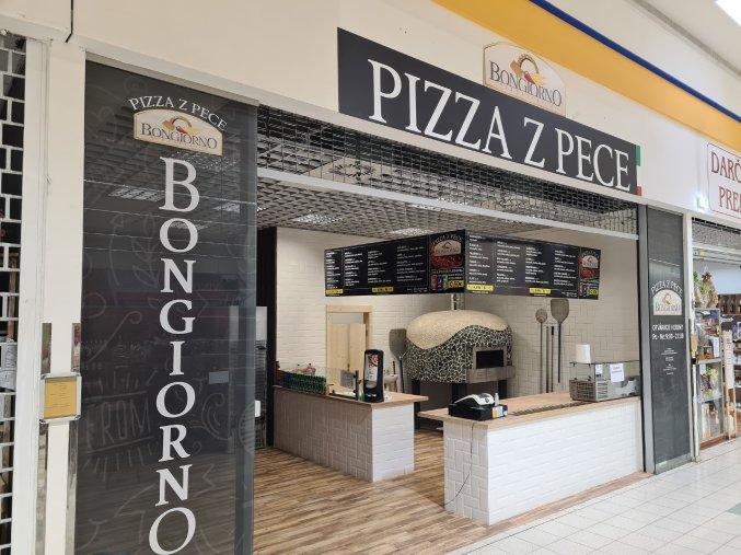 Pizza z pece Bongiorno Považská Bystrica, akcia 1 + 1 zadarmo