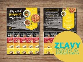Kupónová karta do reštaurácií a pizzerií v Považskej Bystrici