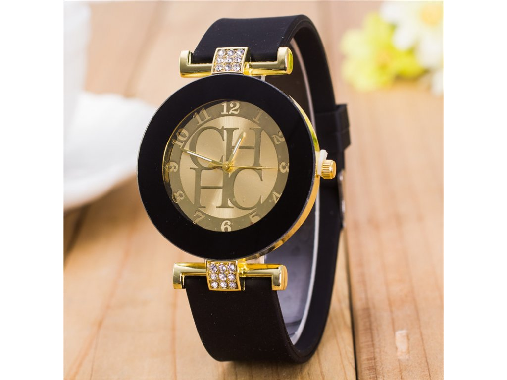 2017 New Fashion Brand Gold Geneva Casual Quartz Watch Women Crystal  Silicone Watches Relogio Feminino Dress dc8e8f669f