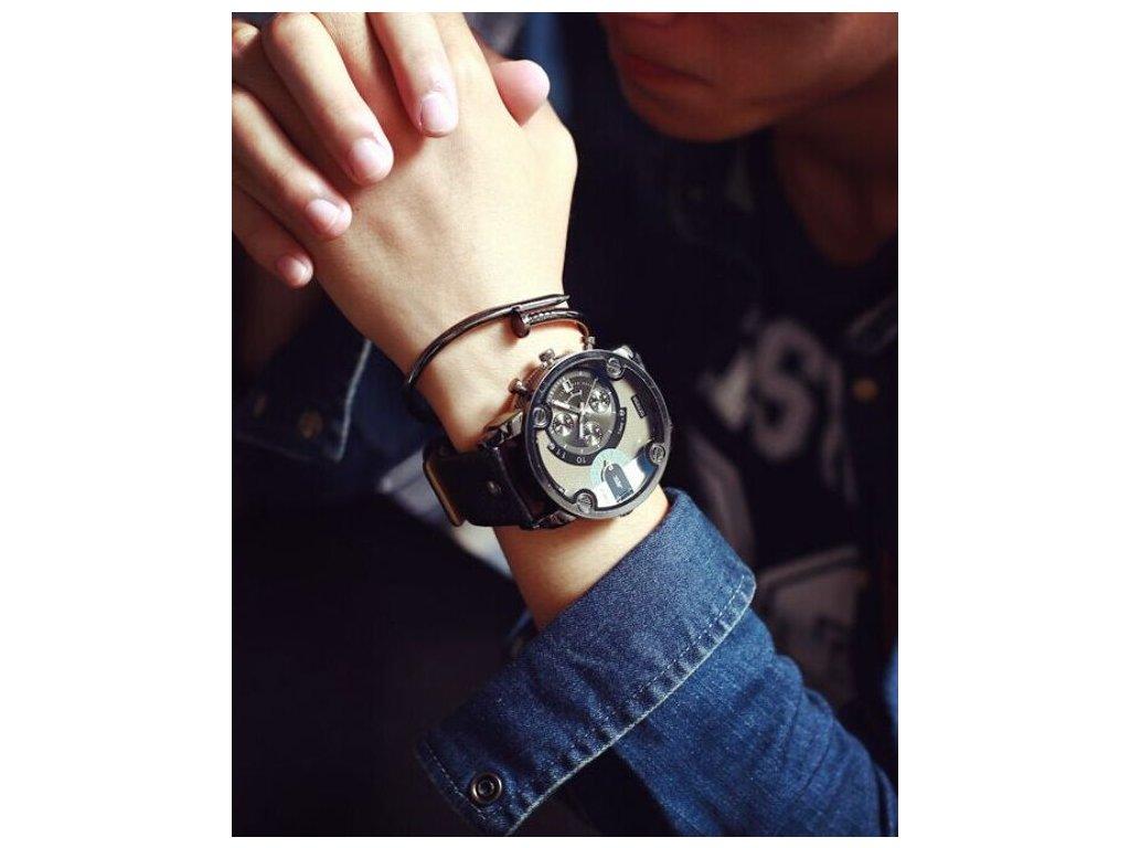 23e2a1470 Pánské hodinky Steel Men - Zlavo-toč