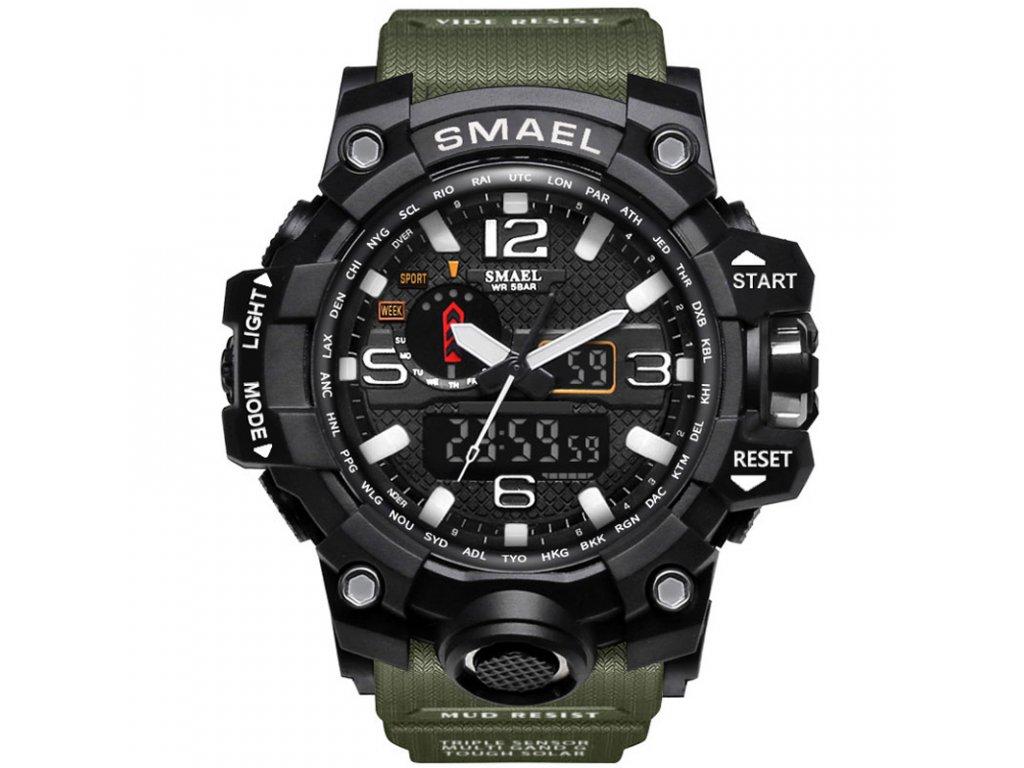 SMAEL Brand Dual Display Wristwatches Military Alarm Quartz Clock Male Gift  S Shock Men s Sports 083f70c6afb
