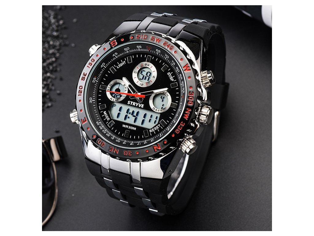 Robustný hodinky Stryve Chrono - Zlavo-toč 970d1827ea2