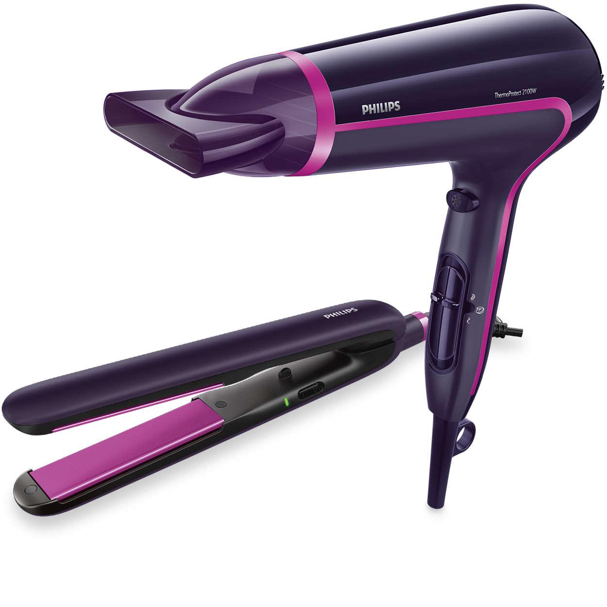 Elektronika - Starostlivosť o vlasy