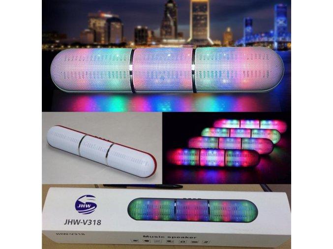 jhw v318 long pill xl bluetooth speaker pill